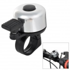 HH-88 Universal Mini Plastic + Aluminum Alloy Bell Horn for Bike - Black + Silver