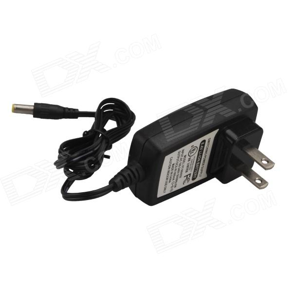 SingFire US4-85525 US Plug AC Power Adapter - Black (DC 5.5 x 2.5mm / 100~240V / 98cm-Cable) singfire us5 45525 us plug ac power adapter black dc 5 5 x 2 5mm 100 240v 115cm cable