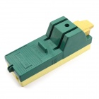 Jtron 2P 63A Plastic Knife Switch - Green + Yellow (220V)