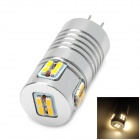 LG4-3014-20L-V  G4 3W 160lm 3500K 20 LED 3014 SMD Warm White Light Bulb - Silver