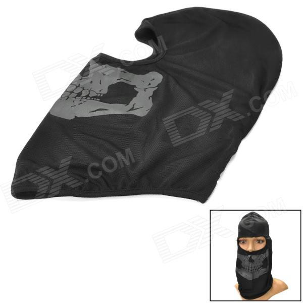 все цены на  QinLongLin Motorcycle Cycling Reflective Protection Mask Helmet Cap - Black + Grey  в интернете