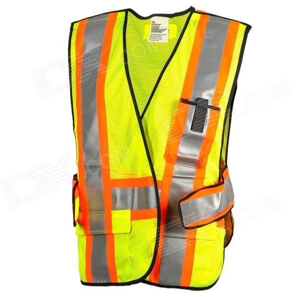Salzmann 289-9 Reflective 3M Scotchlite High Visibility Protective Clothing Mesh Vest (Free Size) new 7   inch for acer iconia one 7 b1