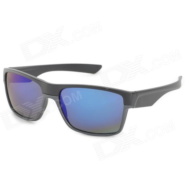 Oreka 7891 Fashion Blue REVO PC Lens UV400 Protection Sunglassses - Black