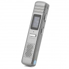 "806 Hi-Fi 0.7"" LCD Digital Voice Recorder Pen w/ Speaker - Silver (4GB)"