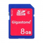 Gigastone Y7-C4-3 High Speed Memory Card - Blue + Red (8GB / Class 4)