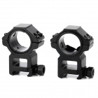 25.4 / 30mm Aluminum Alloy Gun Rail Mount w/ Hex Wrench
