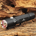 Olight M18 Cree XM-L2 T6 500lm 4-Mode Memory White Tactical Flashlight - Black (1 x 18650)