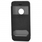 CS Protective PU Leather Case for iPhone 5c - Black