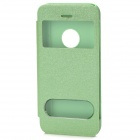 Protective PU Leather Case for iPhone 5c - Green