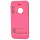Protective PU Leather Case for Iphone 5C - Deep Pink