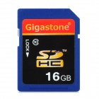 Gigastone Y7-C10-2 High Speed SDHC Memory Card - Blue + Black + Red (16GB / CLass 10)