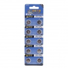 TIAN QIU AG13 / LR44 / 357A 1.5V Alkaline Button Cell Batteries - Silver (10 PCS)