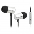 KALAIDENG KE300 Stylish In-Ear Earphones w/ Microphone for Iphone / Samsung / HTC / Sony