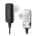 ROMAN S301 Bluetooth V2.1 + EDR Earbud Stereo MP3 Earphone w/ Mic for Cellphones - Black + White