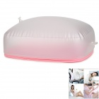 Air Inflatable Cushion Pillow for Office / Home / Camping - Pink