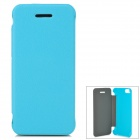 Protective PU Leather Case Cover for Iphone 5C - Light Blue