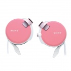 Genuine Sony Earphone with Retractable Cables MDR-Q38LW - Pink