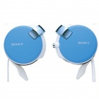 Genuine Sony Earphone with Retractable Cables MDR-Q38LW - Light Blue