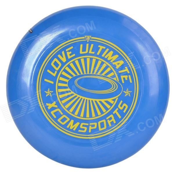 X-COM UT175-ILU1 Professional PVC Flying Disc Frisbee - Blue + Yellow