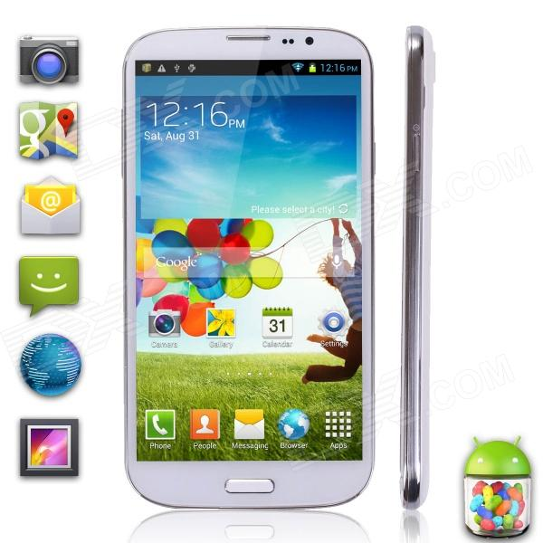 "TIMMY T1 MTK6589T Quad-Core Android 4.2 WCDMA Bar Phone w/ 6.5"" FHD IPS, 2G RAM, 32G ROM - White"