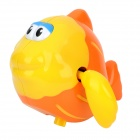 Funny Fish Stle Bath Toy for Baby - Yellow + Orange