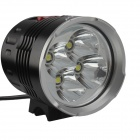 SingFire SF-815 4*CREE XM-L T6 3000lm White 3-Mode LED Bicycle Bike light - Black (6x18650)