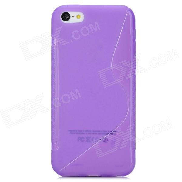 цены Y-4-7-4 S Pattern Protective TPU Back Case for Iphone 5C - Purple