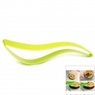Food-Grade Plastic Cake Slicer Server - Green