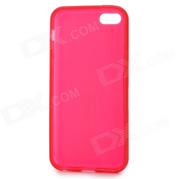 все цены на Matte Protective Silicone Back Case for Iphone 5C - Red онлайн