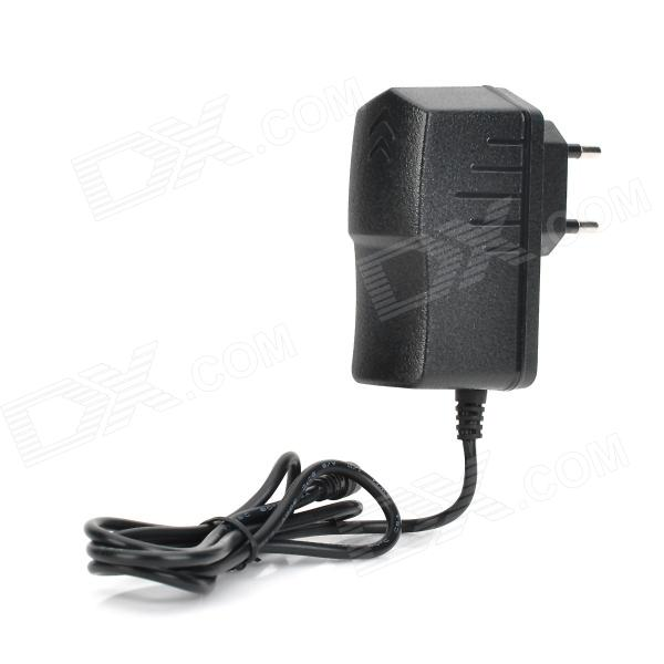YH-0520 AC Power Charger Adapter for Cube U8GT + More - Black (EU Plug / 100~240V / 2.5 x 0.7mm)