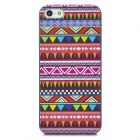 Tribal Pattern Protective Plastic Pattern Back Case for Iphone 5 - Multicolored