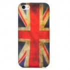 England Pattern Protective TPU Back Case for Iphone 5C - Red + White + Blue