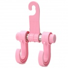 Car Seat Headrest Plastic Hanging Hook - Pink