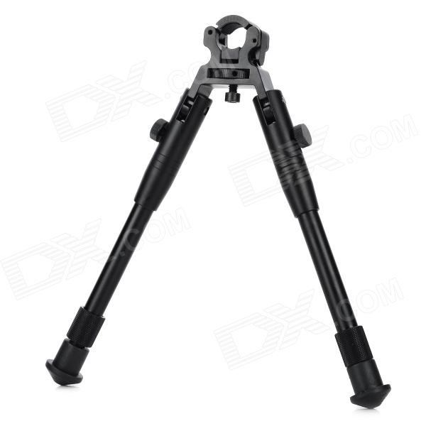 Y02 6 Retractable Aluminum Alloy Bipod - Black 6 aluminum alloy tactical bipod w extendable leg for guns black