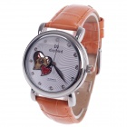 Daybird Vogue Heart-Shaped Hollow out Style Automatic Mechanical Women's Wrist Watch - Silver