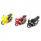 Mini Autobike Stunt Motorcycle Model Figure Gyro Freewheeling Toy (3 PCS)