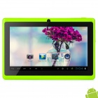 "MID-756 7"" Android 4.2 Tablet PC w/ 512MB RAM / 4GB ROM - Green + Black"