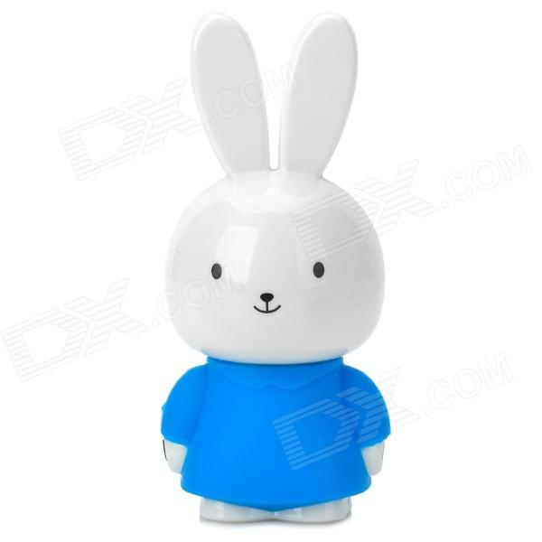 Cute Little Rabbit Style 2-CH Speaker - Blue + White акустика центрального канала heco music style center 2 piano white ash decor white