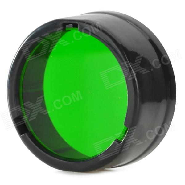 NITECORE NFG25 25.4mm Green Optical Filter for Flashlight - Black + Green