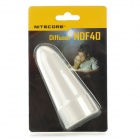 NITECORE NDF40 40mm Flashlight Diffuser - Translucent White