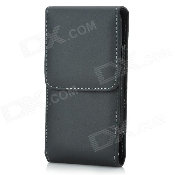 i5-BK-S Protective Top-flip PU Leather Case w/ Clip for Iphone 5 - Black kid s box 2ed 5 pupils bk