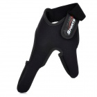 Professional Thumb + Index Finger Neoprene Glove for Fishing - Black