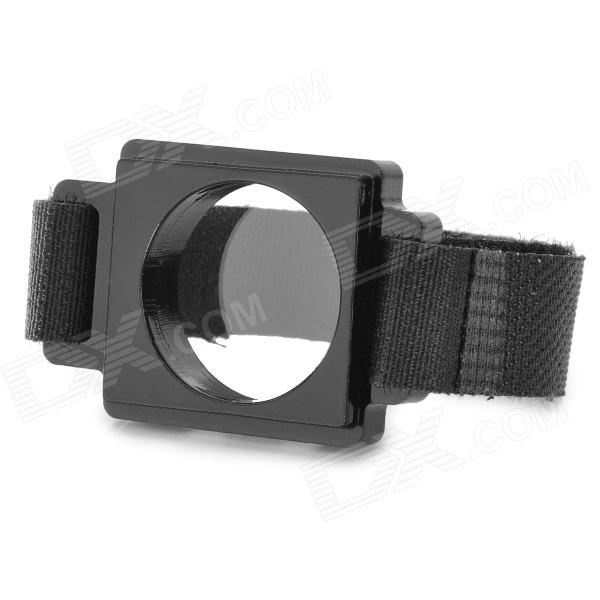 FatCat A-VK3 UV / FPV Lens Protector Kit w/ Nylon Buckle for Gopro Hero 4/ 3 - Black