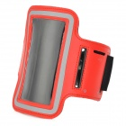 Sport Protective Armband Case for Iphone 5C - Black + Red (25cm)