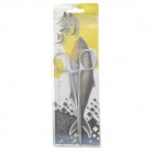 030 Convenient Stainless Steel Angled Pliers Tool for Fishing - Silver