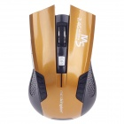 Microkingdom M5 Vogue 2.4GHz Wireless Optical Mouse - Orange + Black (2 x AAA)