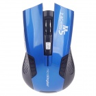 Microkingdom M5 Vogue 2.4GHz Wireless Optical Mouse - Blue + Black (2 x AAA)