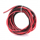 5mm Red / Black Power Connection Cable for Electronics (3m)