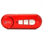 ZY-088 Car Bluetooth V3.0 Hands-free Kit w/ Mini USB for Cellphones - Red