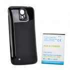 "Thicken 3.7V ""7600mAh"" Li-ion Battery + Back Case for Samsung Galaxy Mega 6.3 i9200 - Black + White"